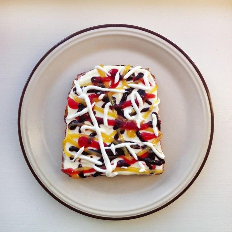 art-toast-jackson-pollock