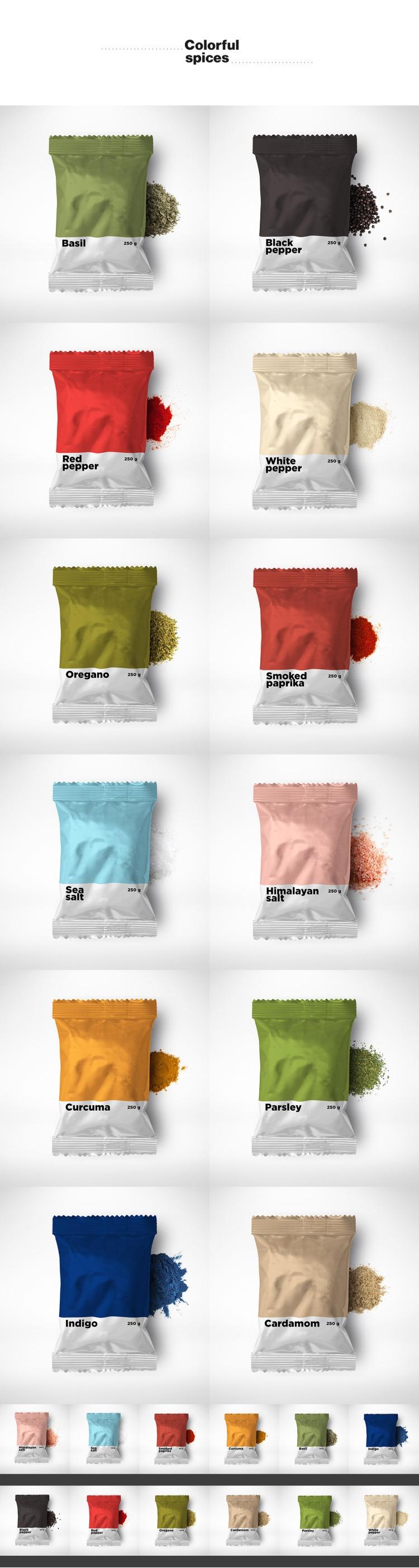 Pantone Spices