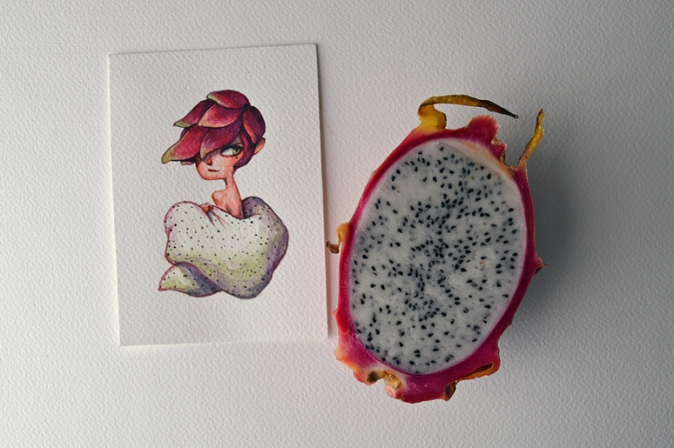 Fruits-as-Characters-