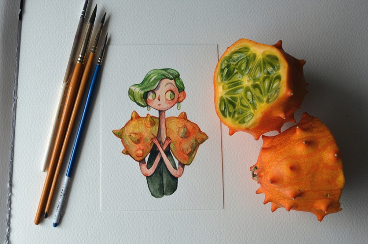 Fruits-as-Characters-3