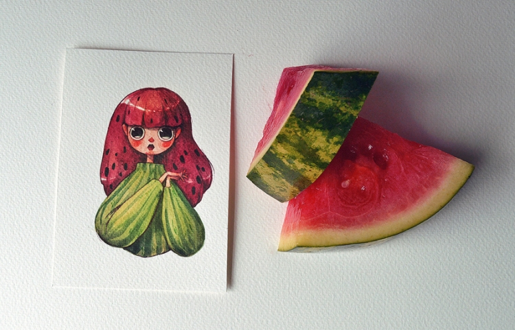 Fruits-as-Characters